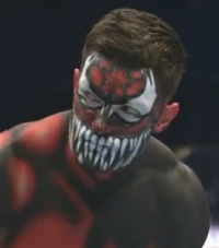 Finn Bálor mit Body-Paint