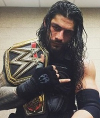 Roman Reigns als WWE Champion